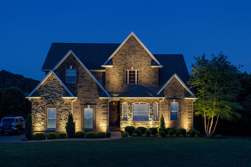 outdoor lighting services light up nashville