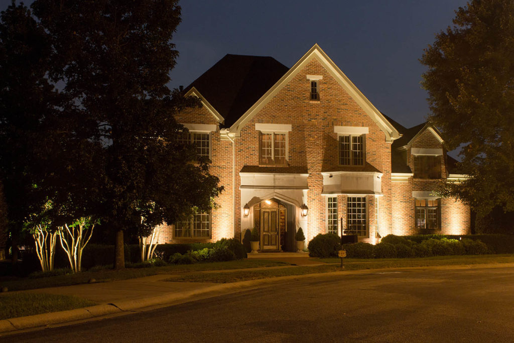 Architectural landscape lighting light up nashville architectural lighting Exterior accent lighting for home