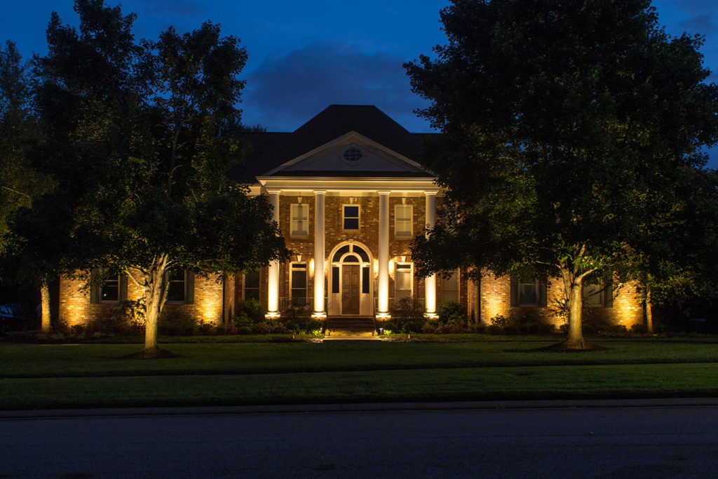 Gallatin landscape lighting service we design and install
