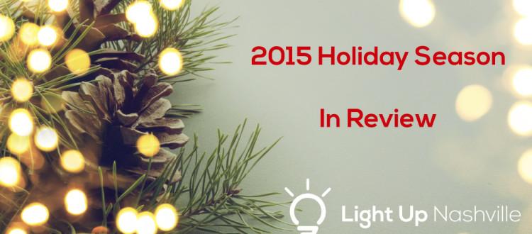 Reflecting on the Holiday 2015 Season