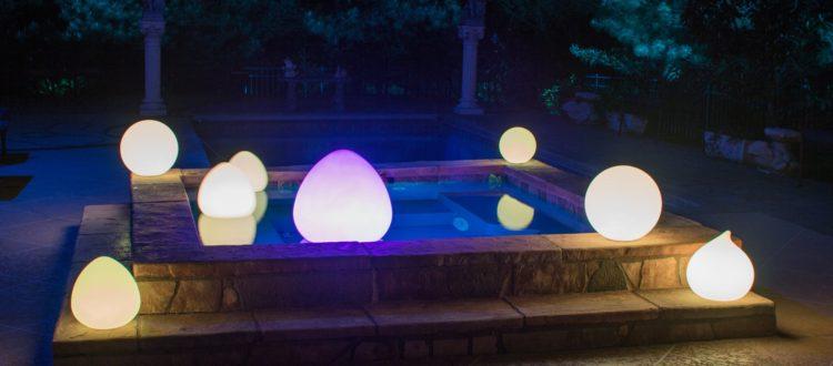 Outdoor Lighting Trends – LED Glow Balls