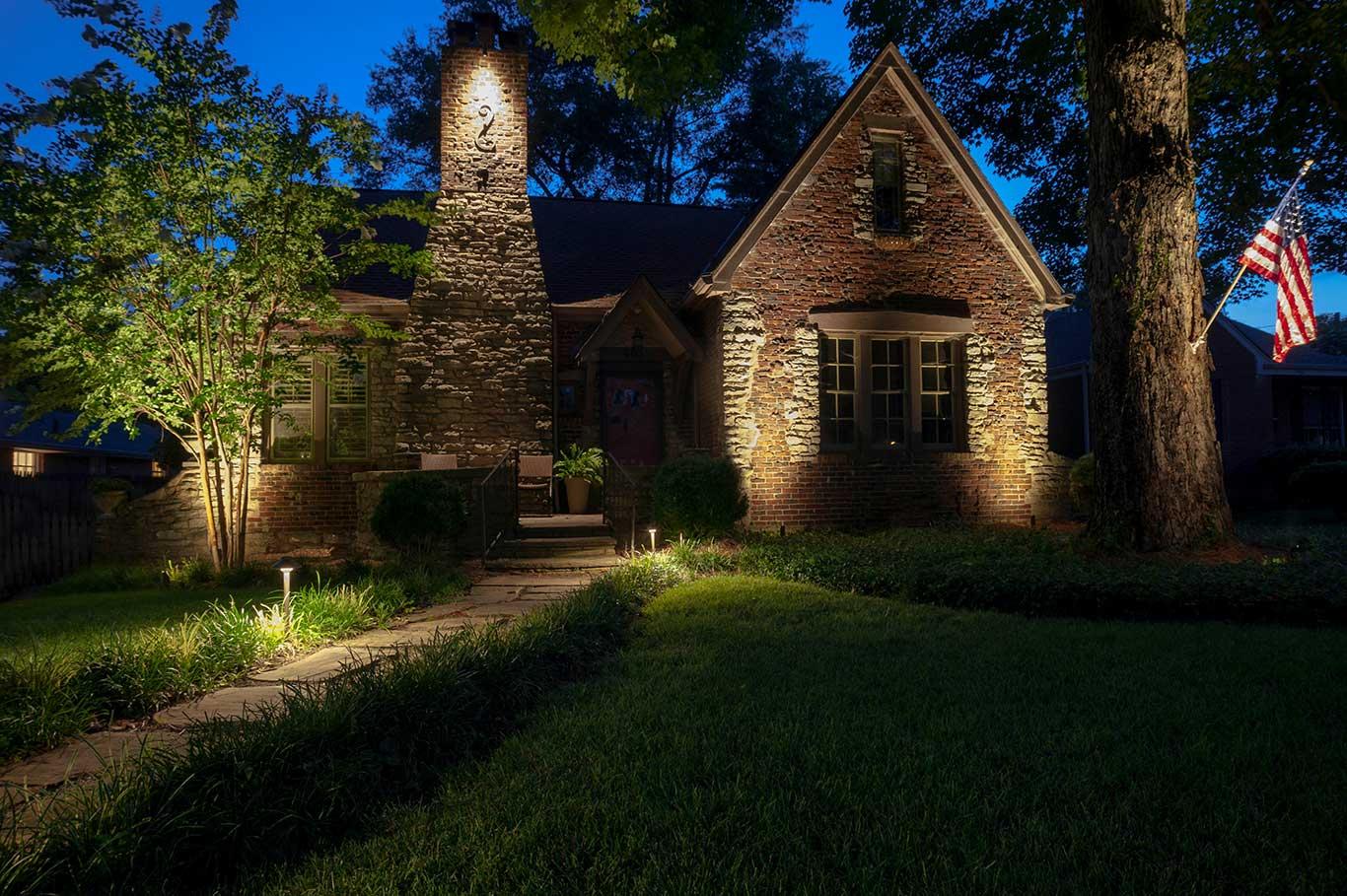 outdoor lighting service