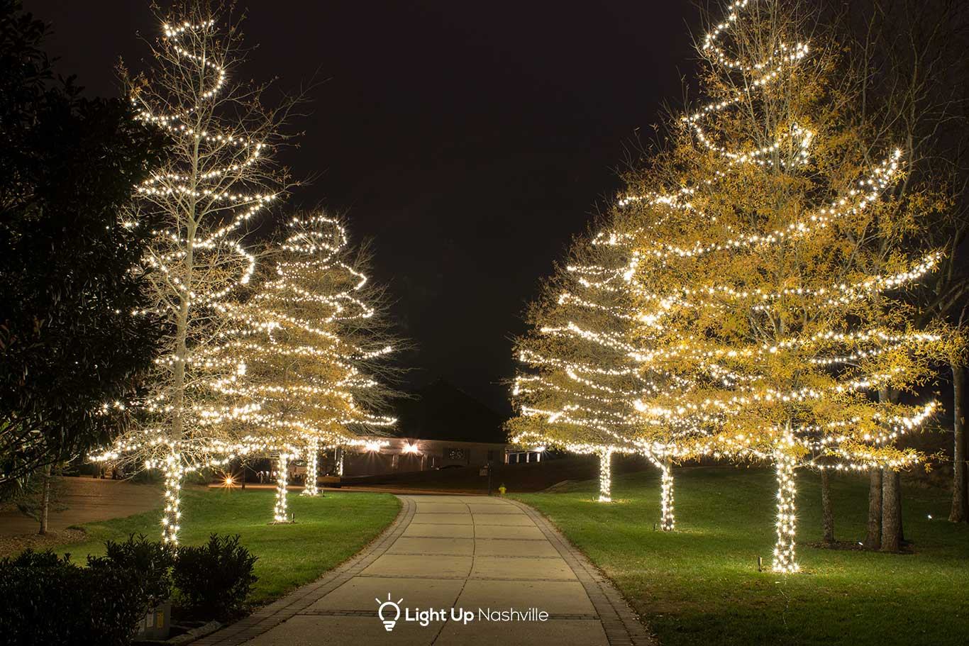 Commercial Holiday Lighting | Light Up Nashville ...