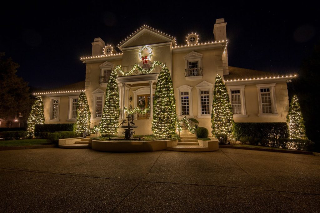 2017 Warm White Display Christmas Brentwood TN & Holiday Lighting Portfolio - Light Up Nashville azcodes.com