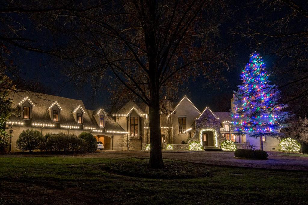 Christmas Multi Color Huge Tree with C7 Bulbs & Holiday Lighting Portfolio - Light Up Nashville azcodes.com