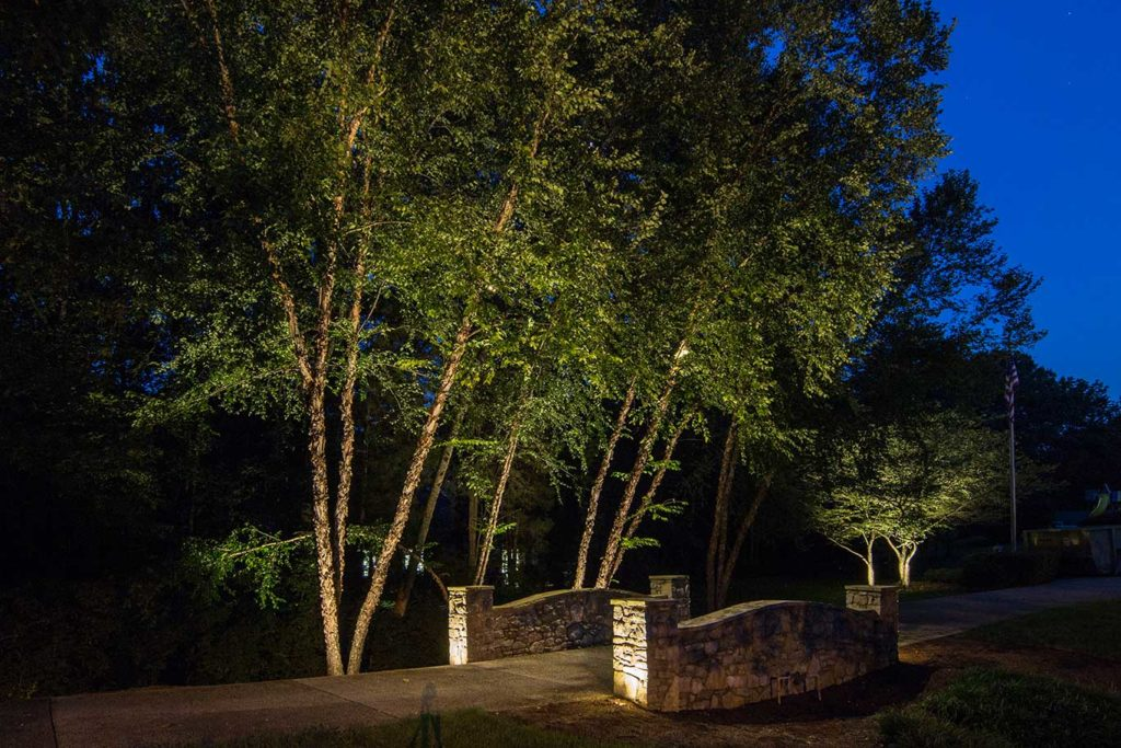 landscape lighting in Belle Meade, TN