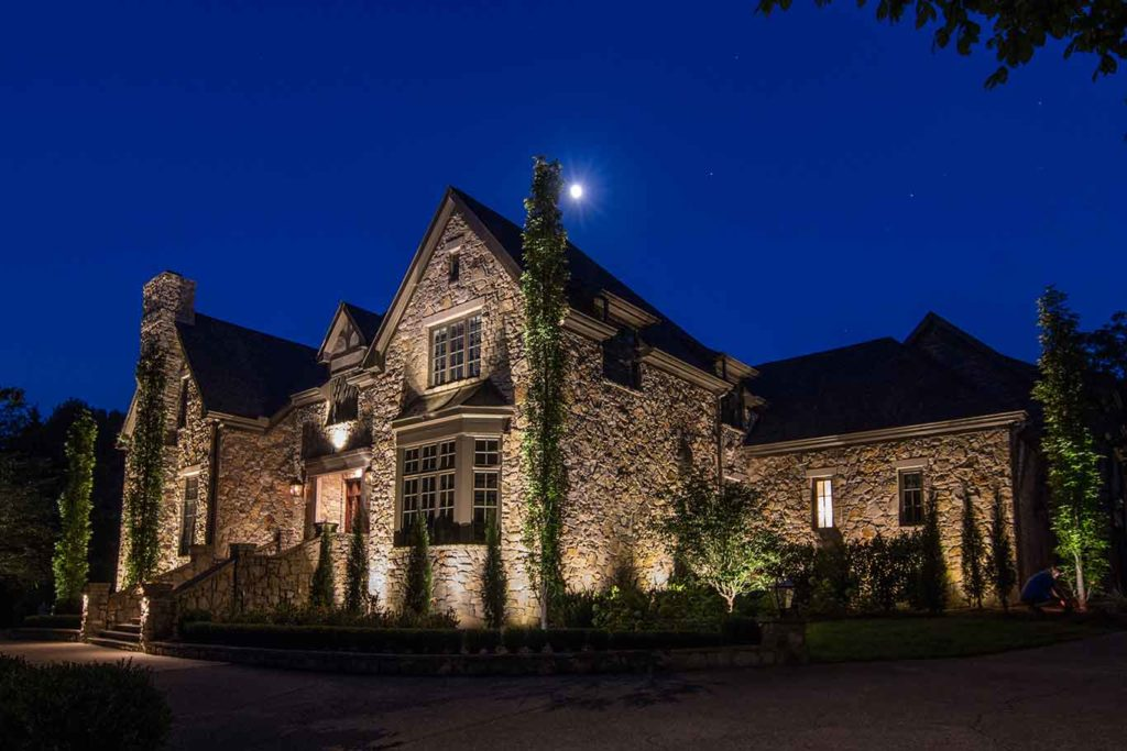 outdoor lighting in belle meade, tn