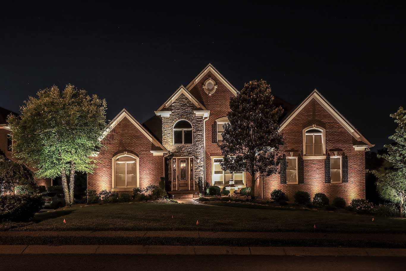 landscape lighting design nashville