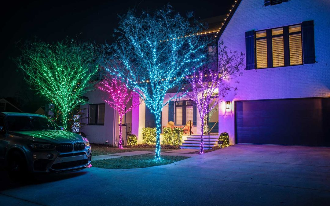 Residential Holiday Lighting Nashville