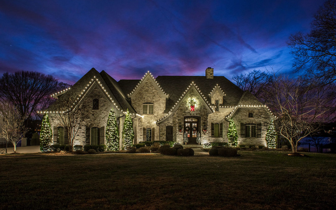 Residential Holiday Lighting in Nashville