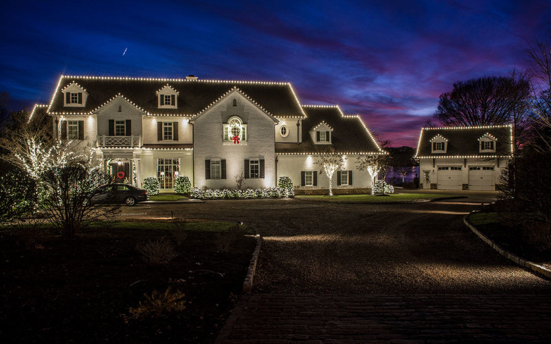 Residential Holiday Lighting in Nashville