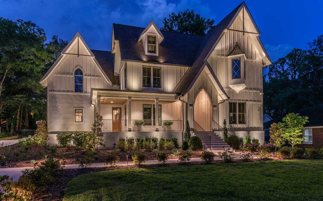 Architectural Up Lighting – Lift Your Homes Curb Appeal