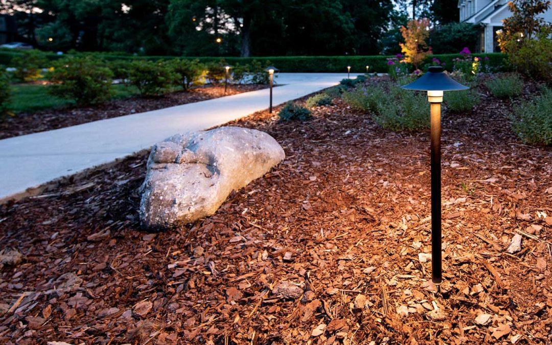 Quality Brass Path Light