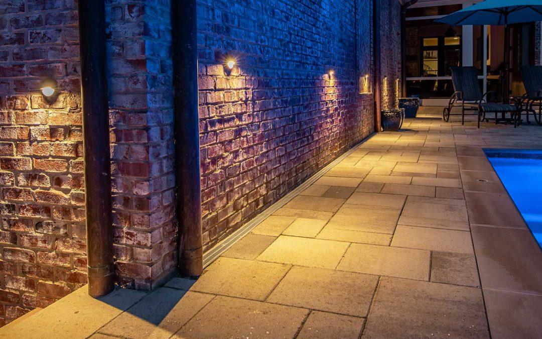 Wall Mounted Downlights Lighting Walkway