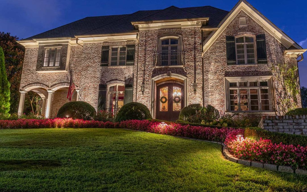 Architectural Lighting in Hill Place Subdivision