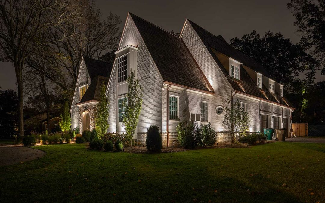 Soft Exterior House Lighting