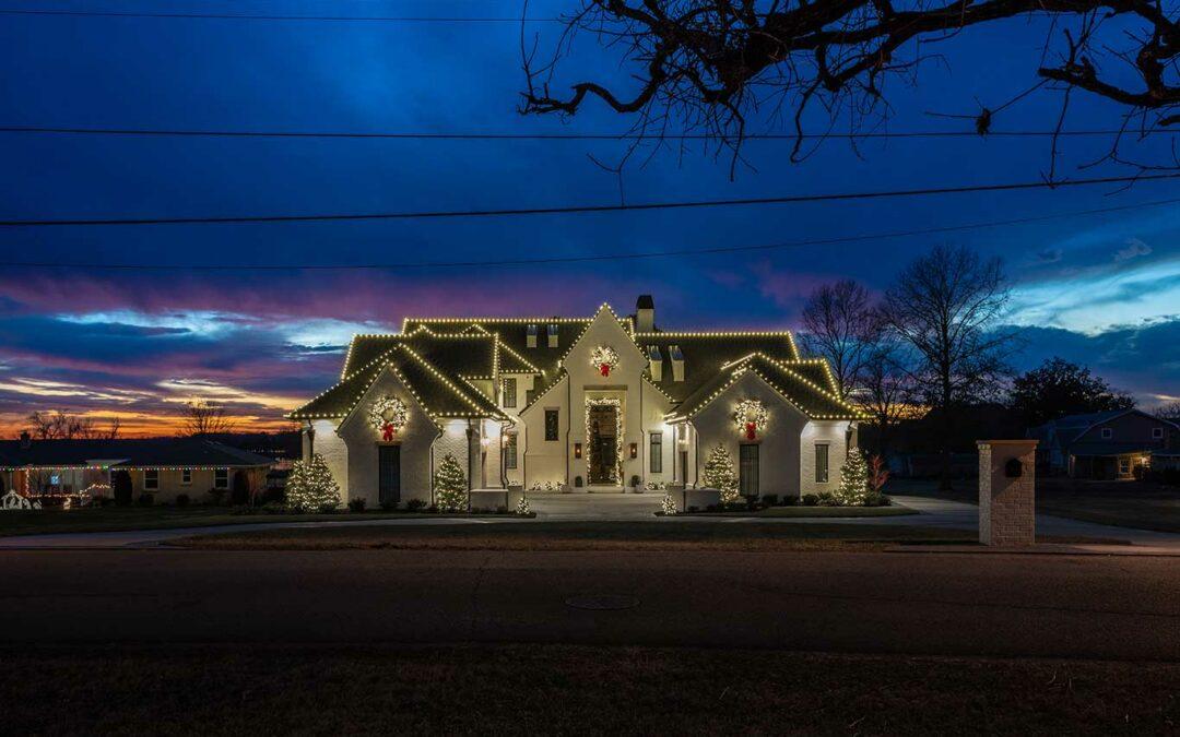 White House Christmas Light Display